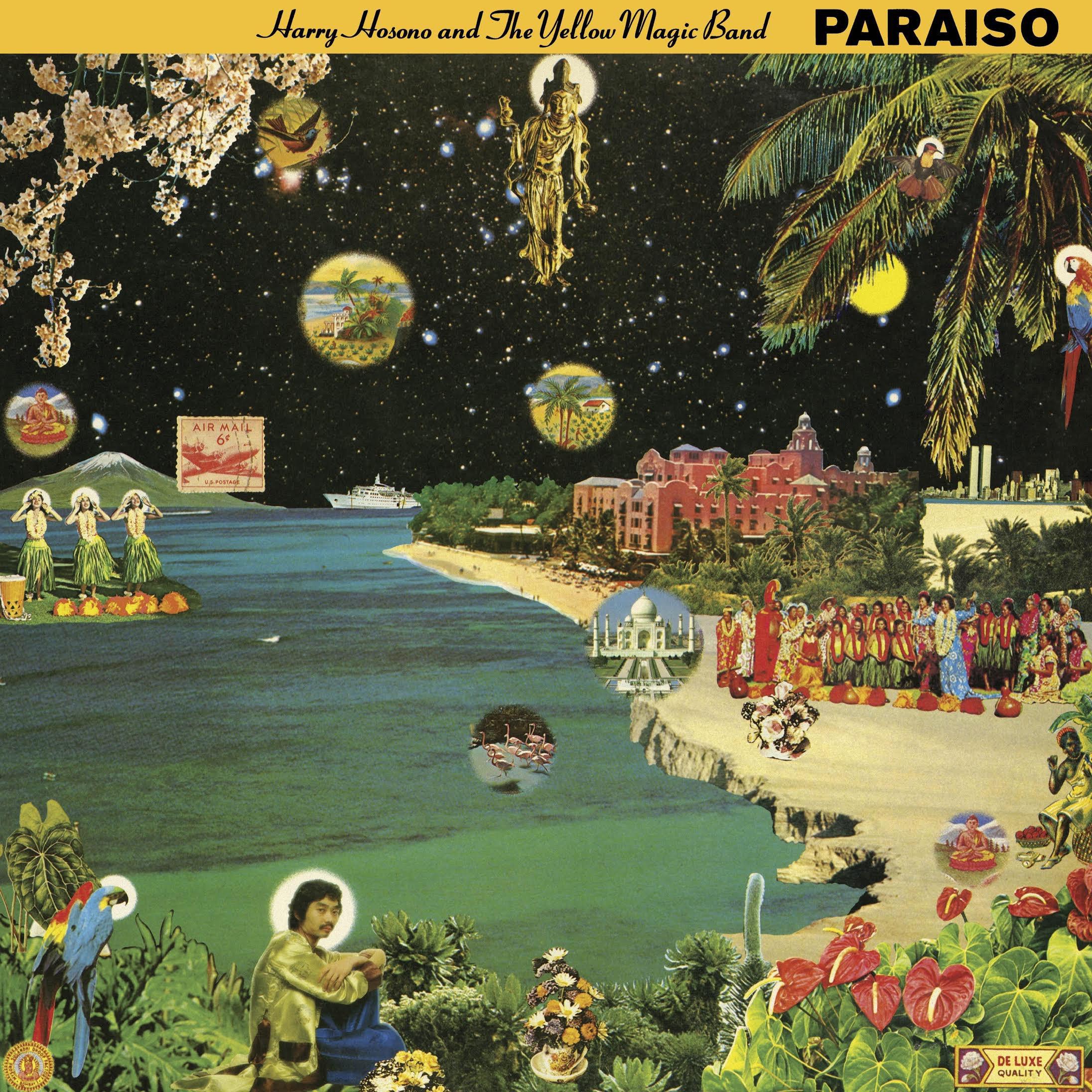 Vinilo : Haruomi Hosono - Paraiso (Gatefold LP Jacket, Limited Edition, Reissue)