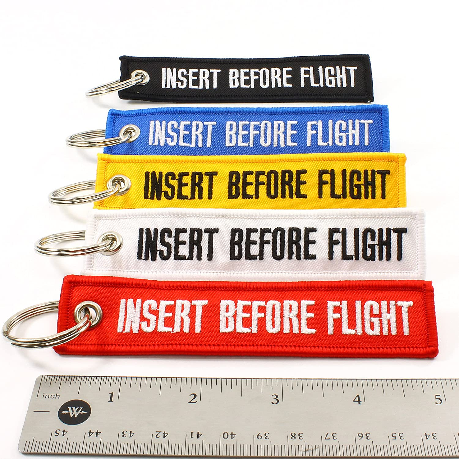 Multi Color 5pcs by IBF1319 Rotary13B1 Insert Before Flight Key Chains