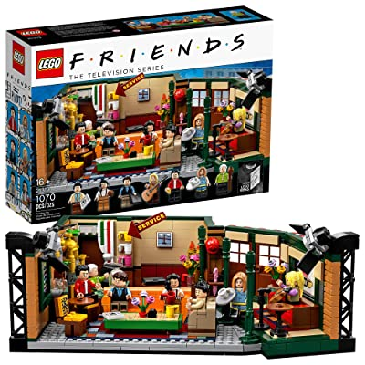 LEGO Ideas 21319 Central Perk Building Kit (1,070 Pieces): Toys & Games