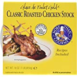 More Than Gourmet Glace De Poulet Gold Roasted Chicken Stock, 16-Ounce Packages