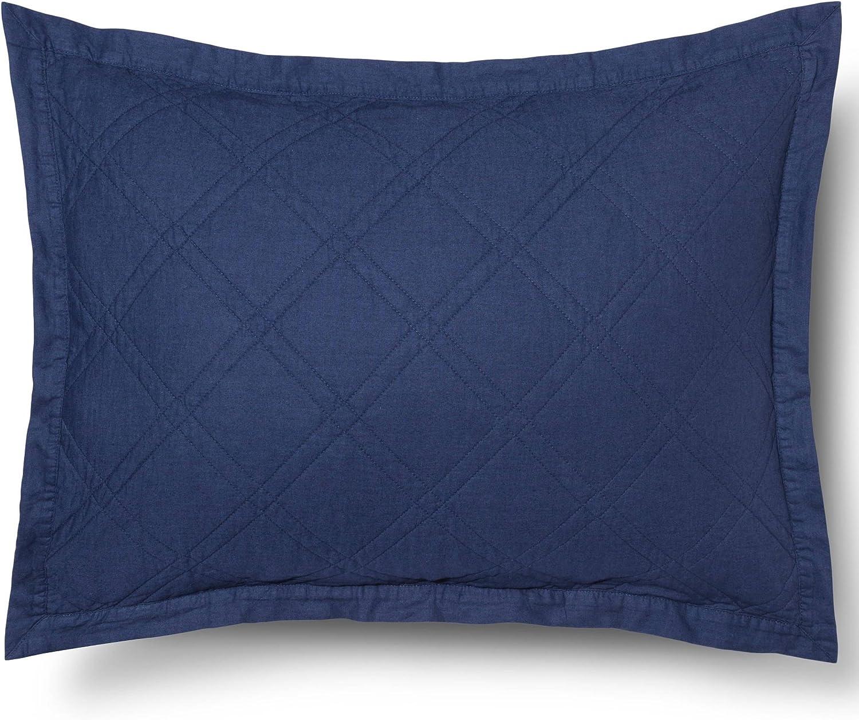 Chenille Square Throw Pillow Light Blue Threshold