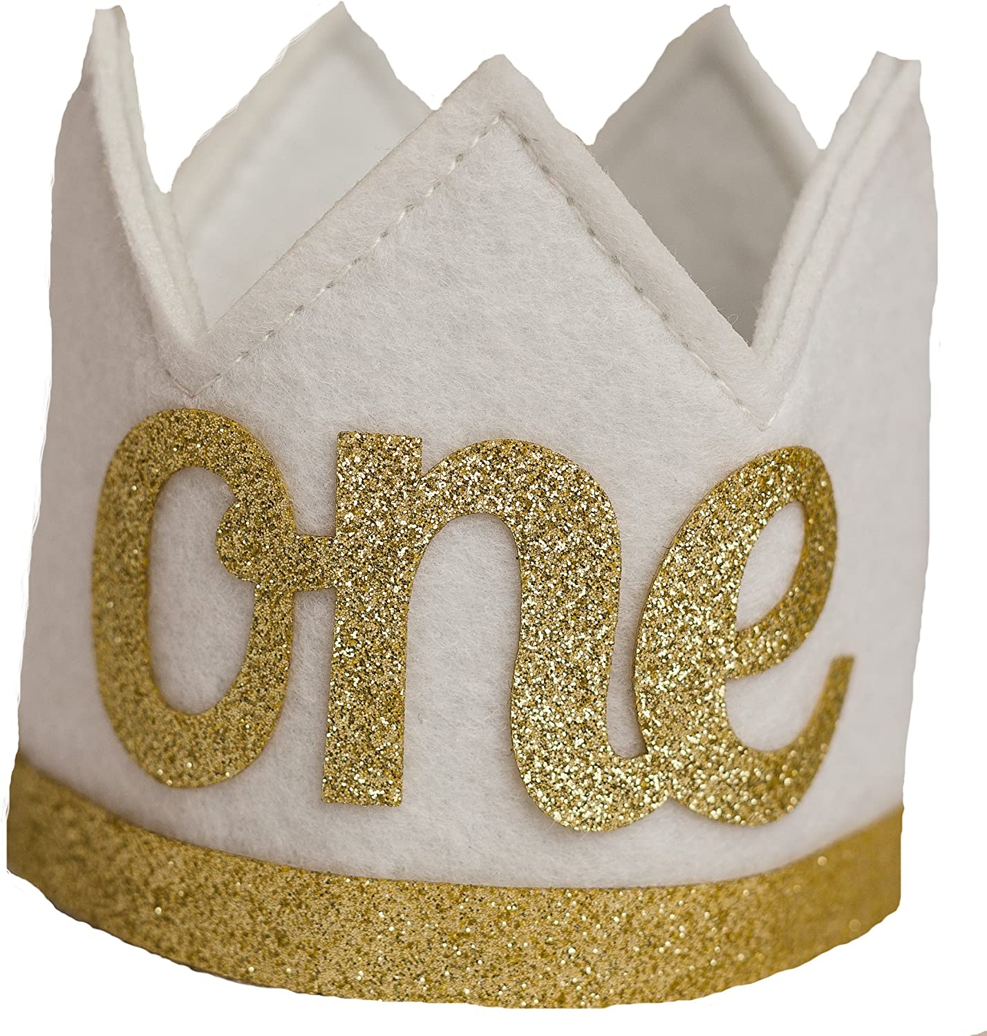 Mini Crowns 12 Gold with Elastic Strap Creative Converting