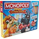 Hasbro Gaming  E1842 Monopoly Junior Electronic Bankingm
