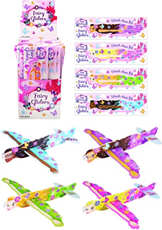 Pack of Five Party Bags Flying Glider Plane Stocking Filler