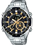 Casio Edifice Analog-Digital Black Dial Men's Watch-ERA-600D-1A9VUDF (EX353)