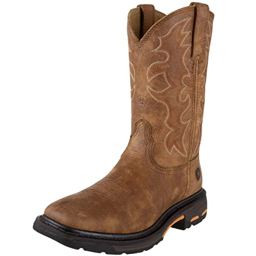 701d9752c Ariat Men s Workhog Wide Square Toe Work Boot  Amazon.co.uk  Shoes ...