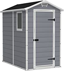 KETER Manor Outdoor Storage Shed  sc 1 st  Amazon.com & Sheds : Storage Sheds : Garden Store : Amazon.com