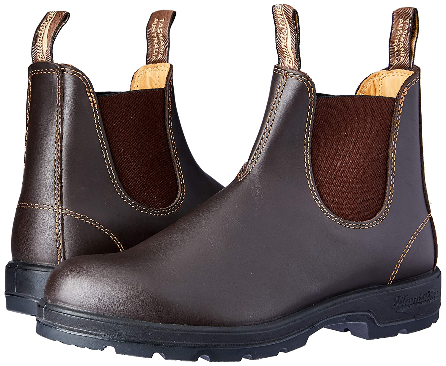 New Blaundstone Leather Leather Leather Ankle Stiefel 561 Crazy Horse EU 46 US 12 UK 11 Men damen 413891