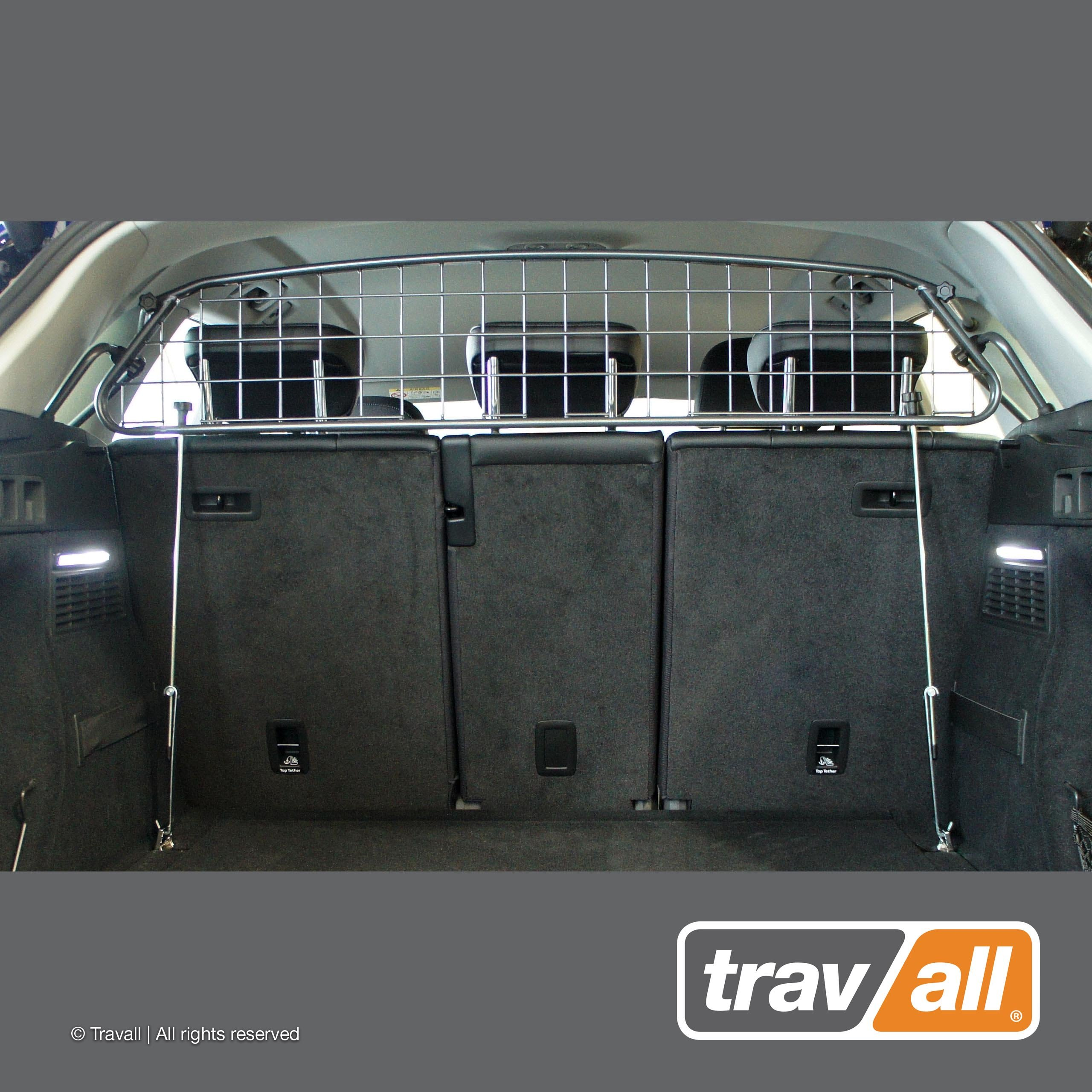 Travall Guard Compatible with Audi Q5 (2016-Current) Also for Audi SQ5 (2017-Current) TDG1530 - Rattle-Free Luggage and Pet Barrier