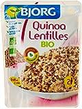 Bjorg Quinoa Lentilles Bio Sachet 2 personnes 250 g