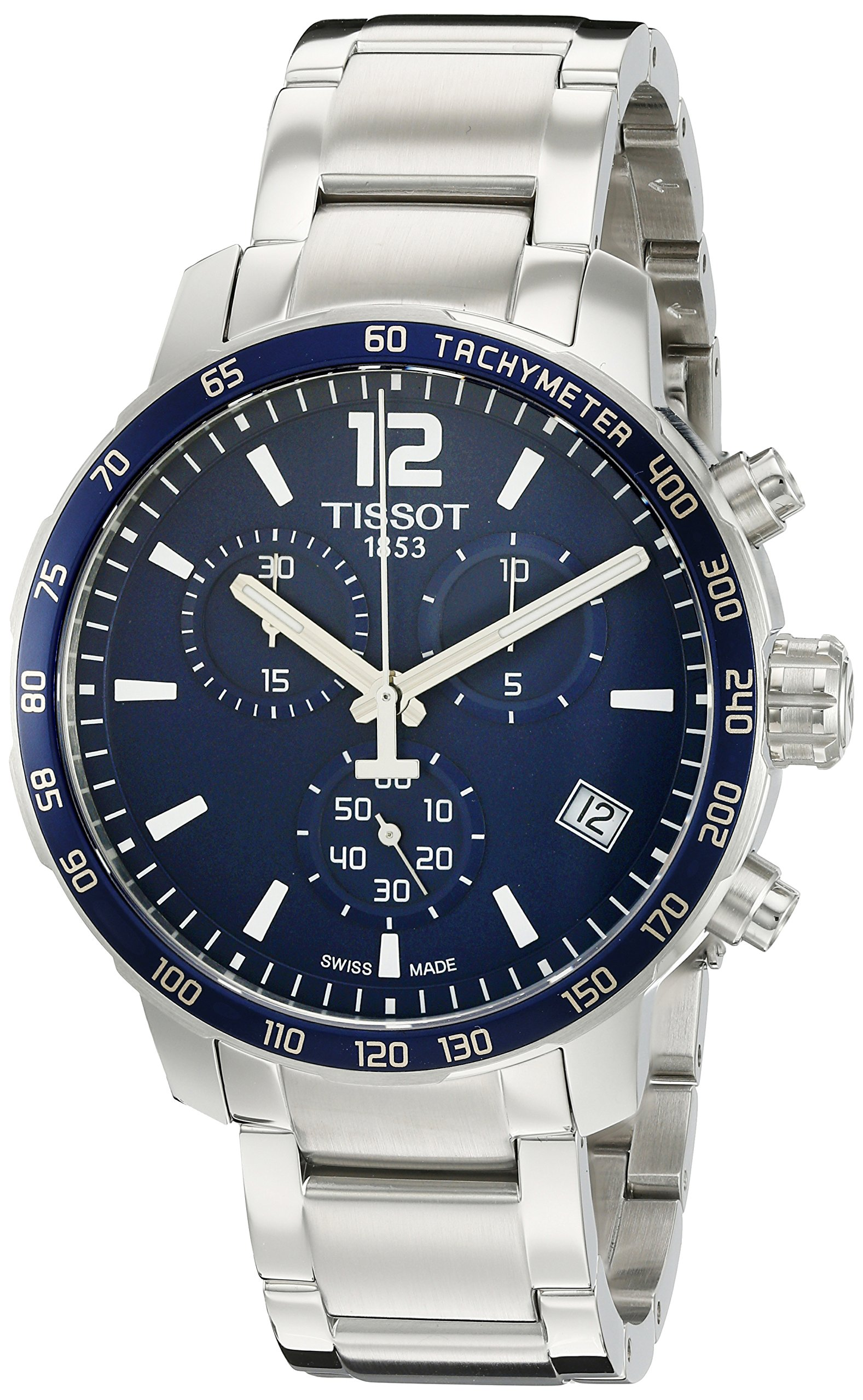 Tissot Men's Swiss Quartz Stainless Steel Casual Watch (Model: T0954171104700) by Tissot