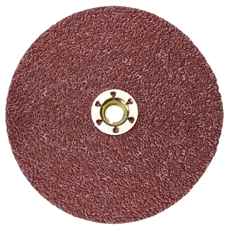 "3M Cubitron II Fibre Disc 982C, TN Quick Change, 60+ Grit, 4-1/2"" Diameter, Ceramic Grain - Lot of 25"