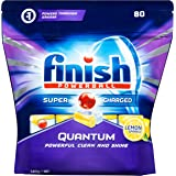 Finish 3006321 Powerball Quantum Dishwasher Tablets, Lemon Sparkle