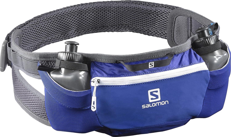 Bleu Pulse Belt L39778800 Taille S Salomon Unisexe Ceinture de Course /à Pied et Randonn/ée