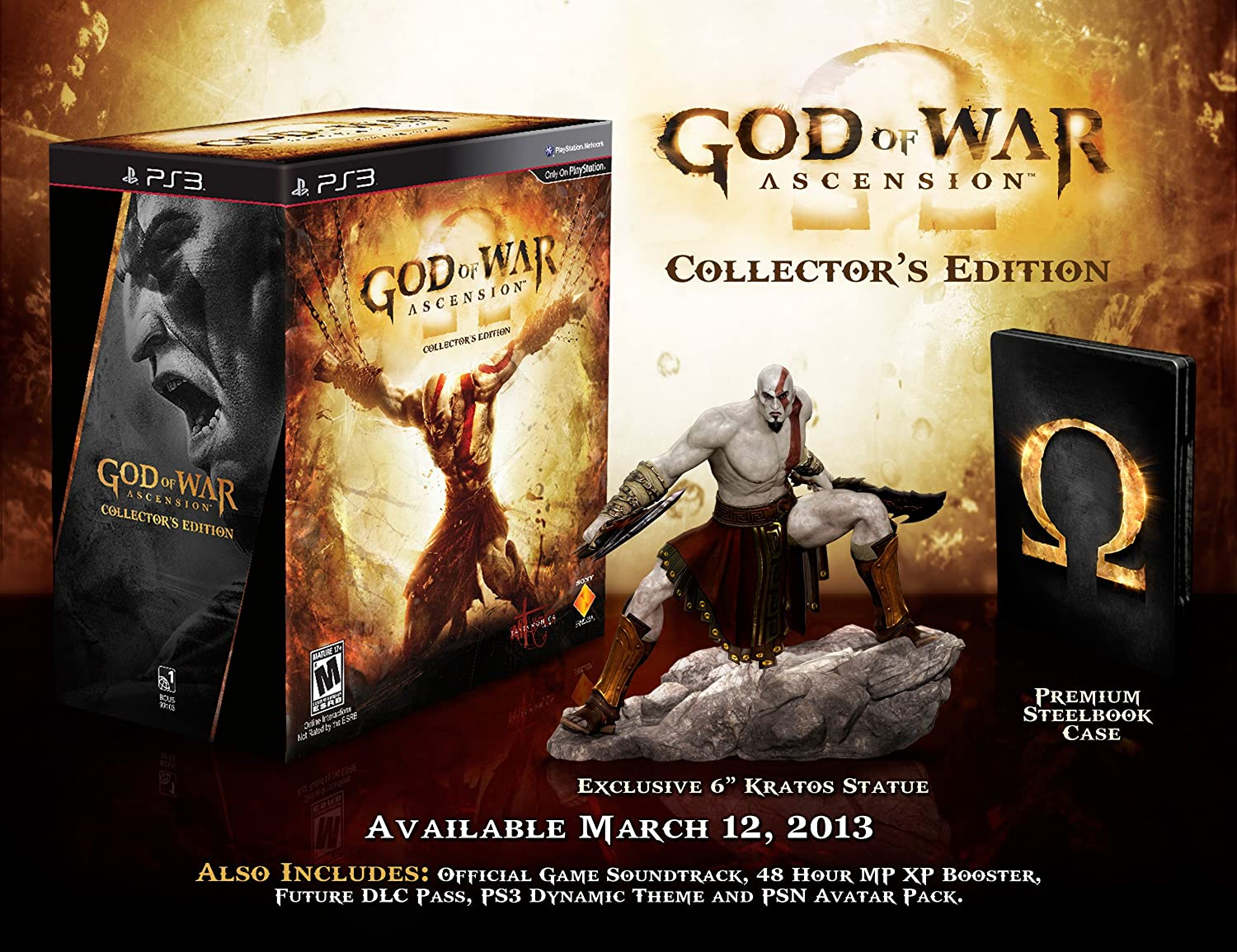 Amazon god of war ascension collectors edition nla voltagebd