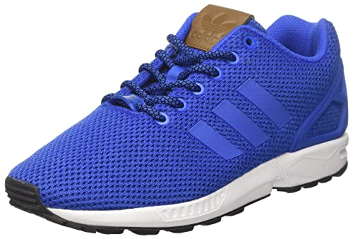 competitive price 859ce d0213 adidas ZX Flux, Sneaker Uomo, Blu Blue Footwear White, 38 EU