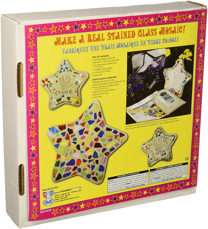 Amazon.com: Milestones 90115122 Mosaic Star Stone Kit: Arts, Crafts U0026 Sewing