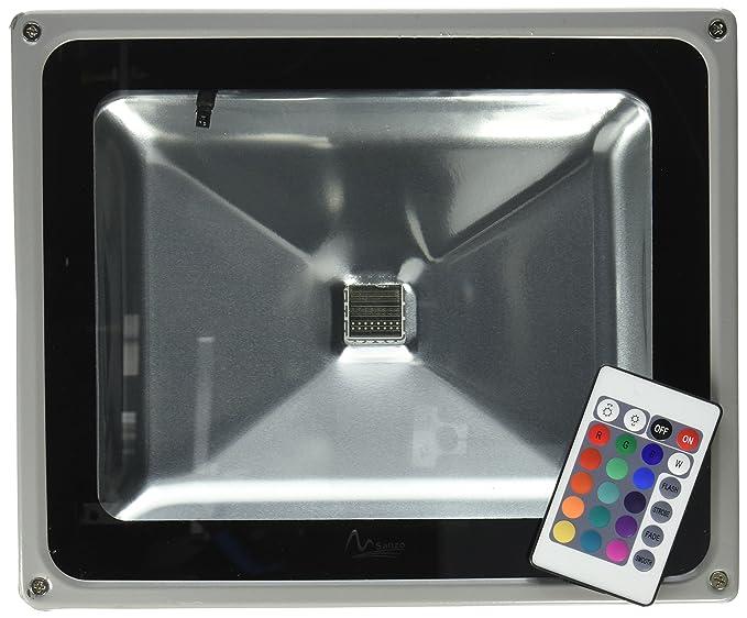 W rgb led luce di inondazione con telecomando esterno wash