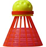Speedminton® Speedertube FUN, gelb-orange