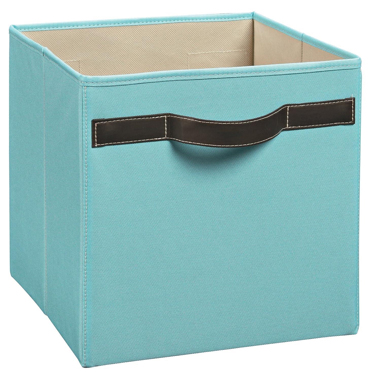 Amazon.com: ClosetMaid 1823 Cubeicals Premium Fabric Bin, Robins Egg: Home  U0026 Kitchen
