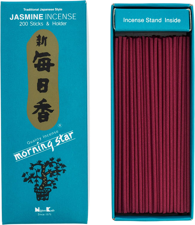 Jazmín Incienso japones, 200 Barritas