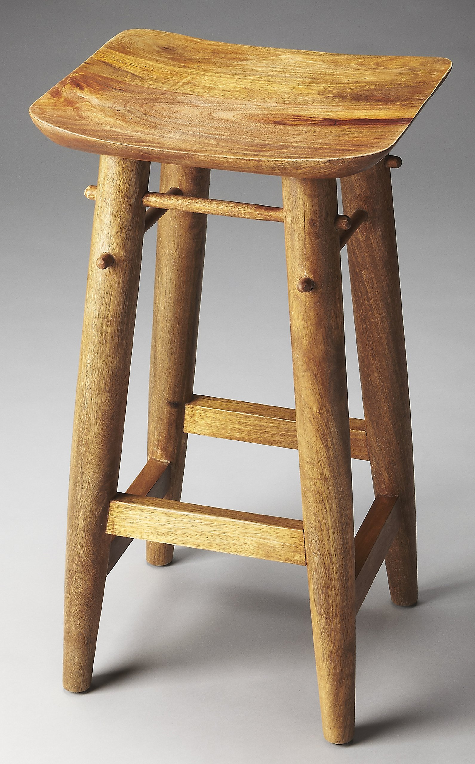 Wooden Traditional Barstool