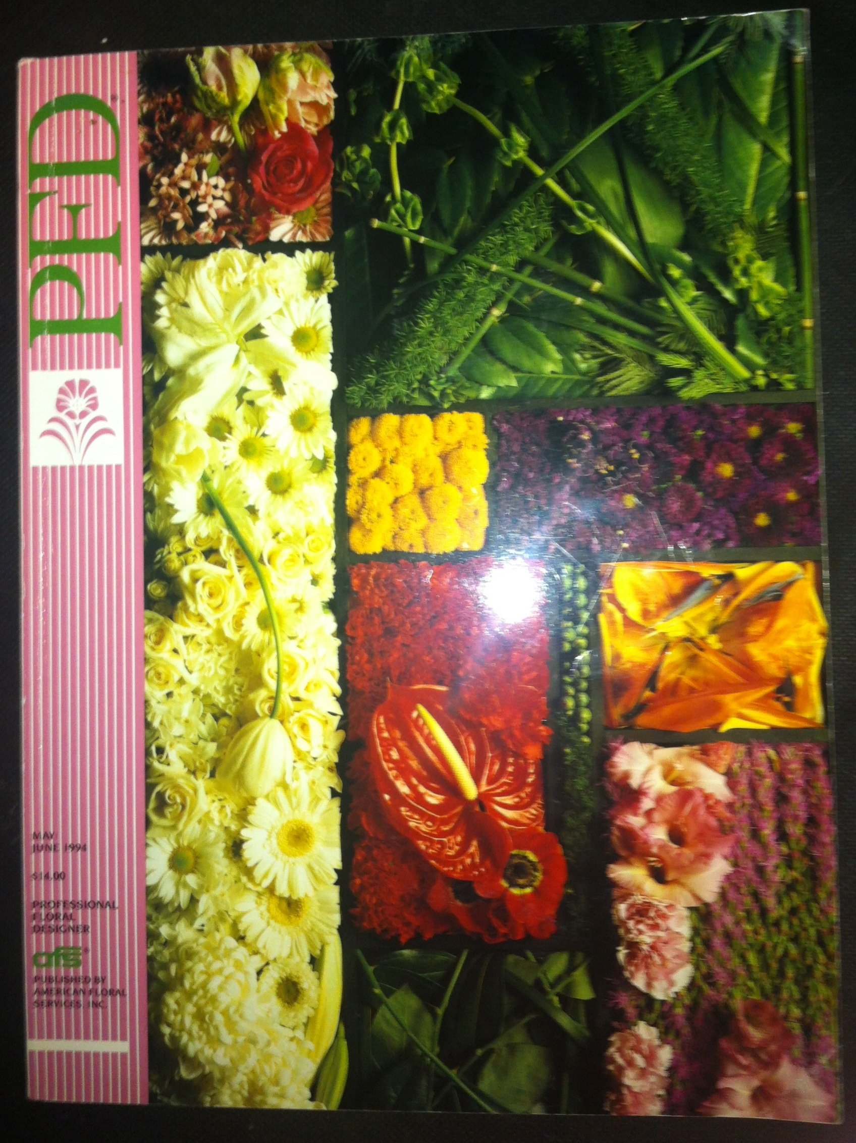 Pfd Professional Floral Designer Magazine Vol 14 May June 1994