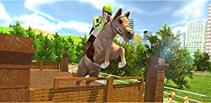 Horse Racing Stunts Adventure Game 3D: Real Road Animal Transporter Driver Truck Sim Adventure Mission Games Free For Kids 2018 by Nation Games 3D