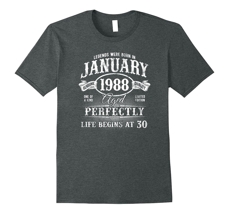 Mens January T Shirt Begins Medium-Teechatpro
