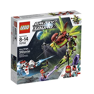 LEGO Galaxy Squad Warp Stinger 70702: Toys & Games
