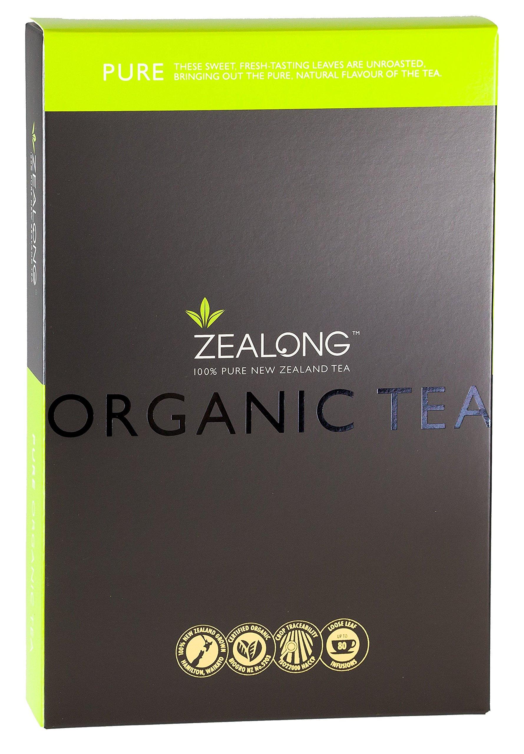 Organic Tea Pure Oolong Loose Leaf Tea Leaves by Zealong, Creators of The World's Purest Tea by Zealong