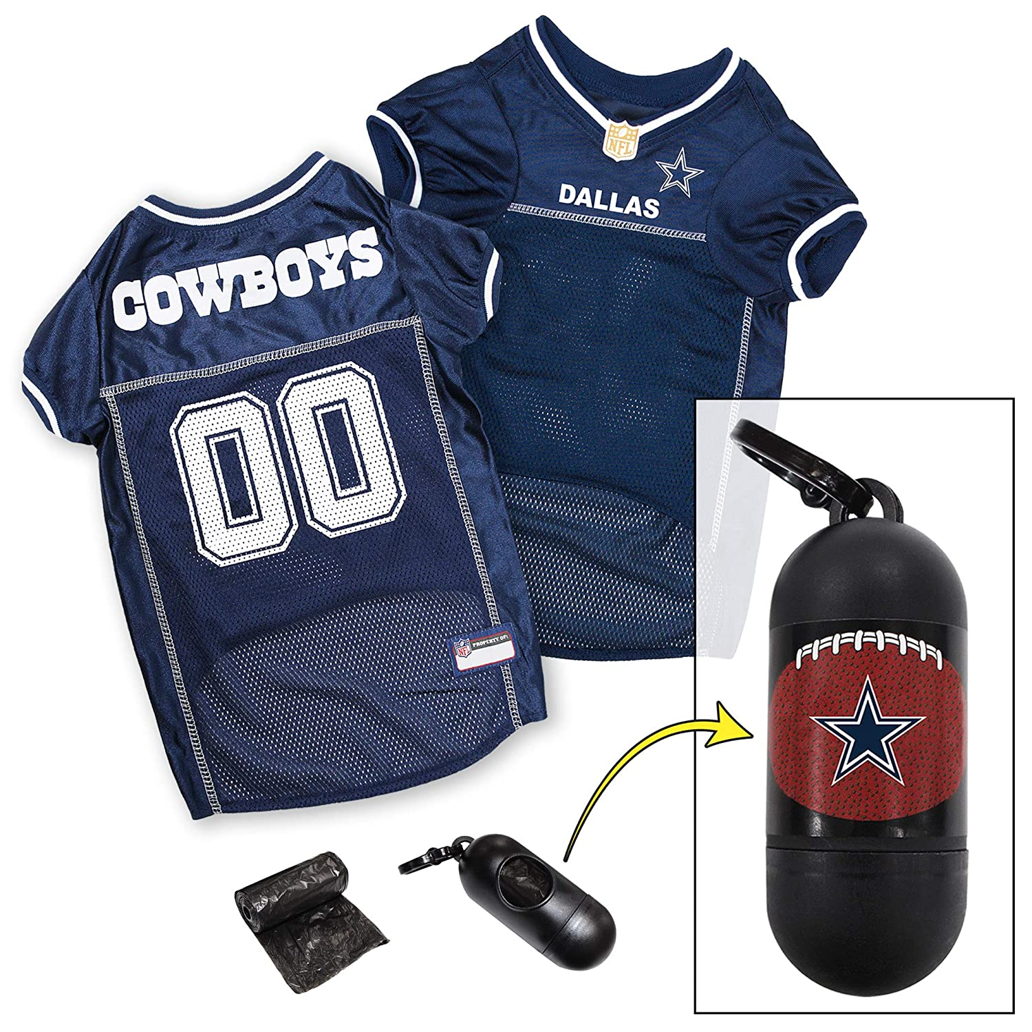 huge selection of 1ac15 200b5 NFL PET Jersey. Most Comfortable Football Licensed Dog Jersey. 32 NFL Teams  Available in 7 Sizes. Football Jersey for Dogs, Cats & Animals. - Sports ...