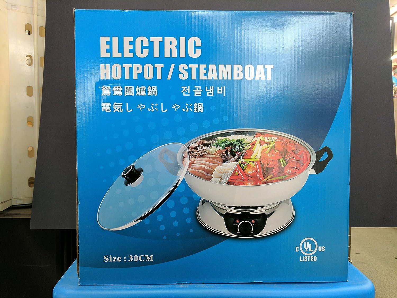 Electric Hotpot/Steamer/Cooker