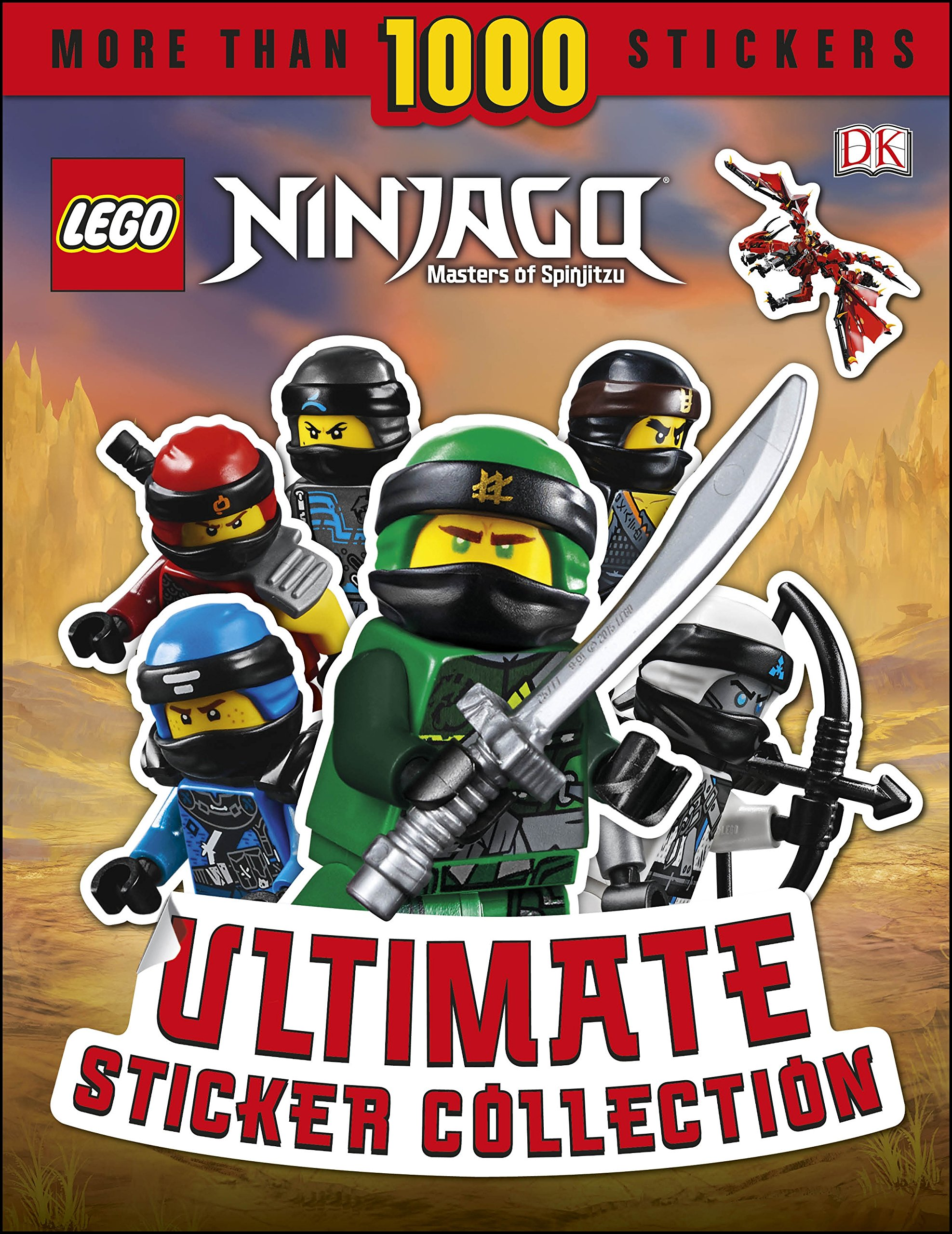 Lego Ninjago Legacy Sticker numéro nº 33 de 289 Autocollants glitzersticker HOLO