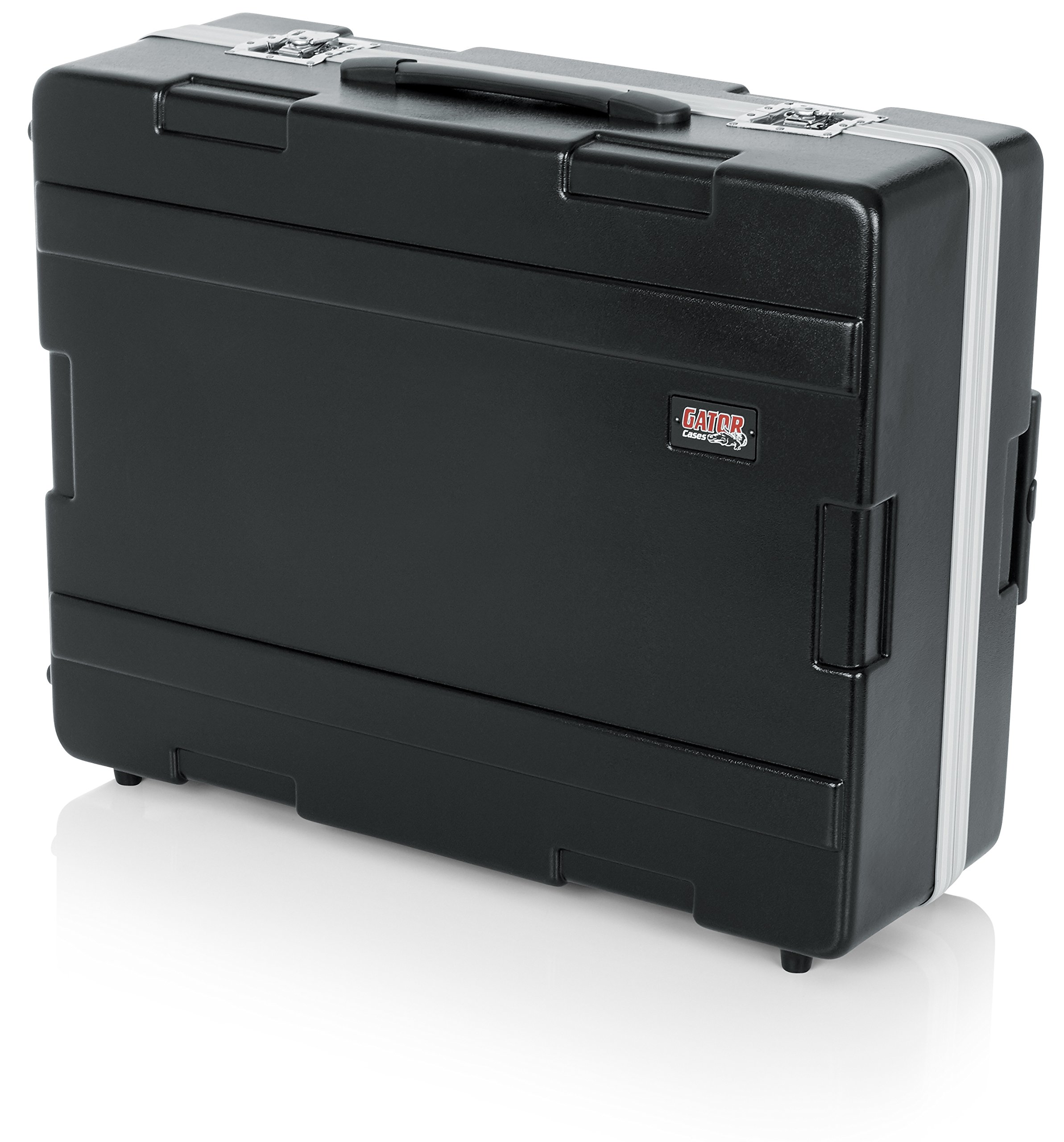 Gator Cases Lightweight Molded ATA Mixer Case with Wheels and Tow Handle; Fits Mixers 20'' x 25'' (G-MIX 20X25)