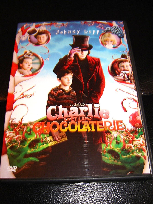 Amazon.com: Charlie and the Chocolate Factory (2005) / Charlie et la  chocolaterie: Johnny Depp, Freddie Highmore, David Kelly, Tim Burton:  Movies & TV