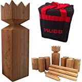 Classic Leisure Products Viking Kubb Garden Game Hardwood in Canvas Bag As Seen on BBC
