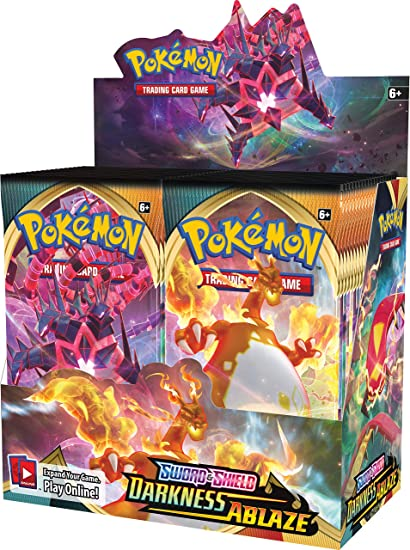 Pokemon TCG Sword and Shield Darkness Ablaze Elite Trainer Box PRE ORDER