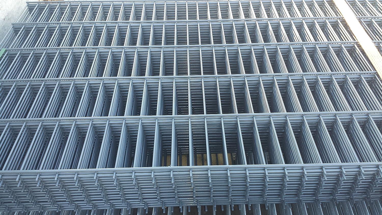 Zaun Set Doppelstabmatten 20 Meter Höhe 1230 mm anthrazit