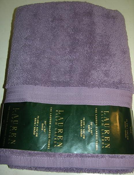 Ralph Lauren Lauren Classic Toalla de baño – Violeta