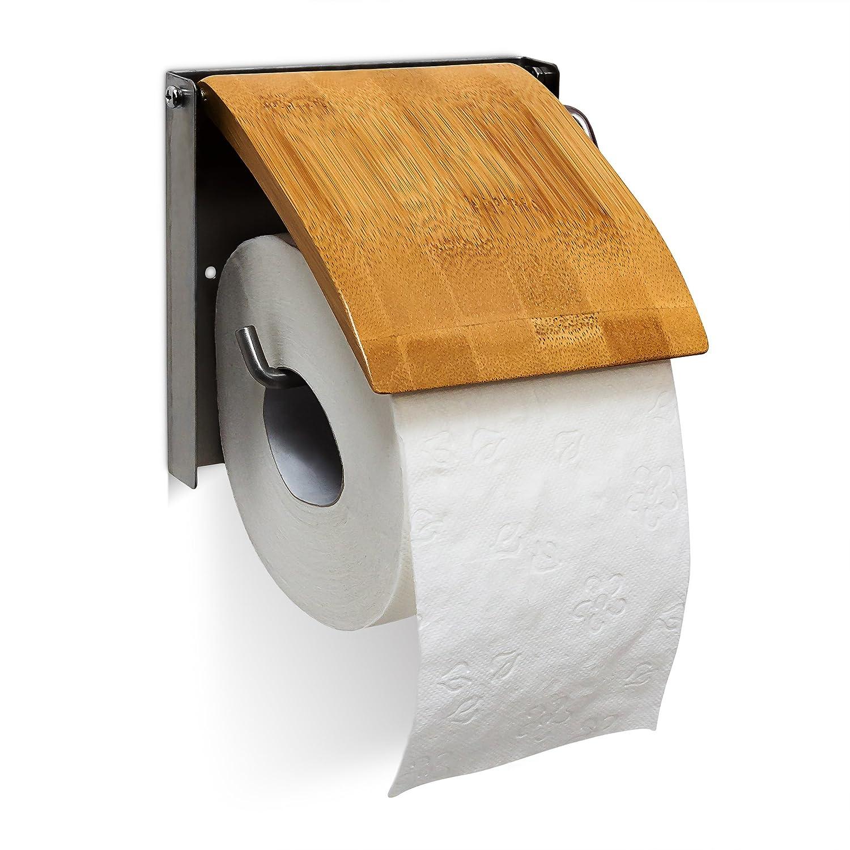 Portarrollo para Inodoro de bambú