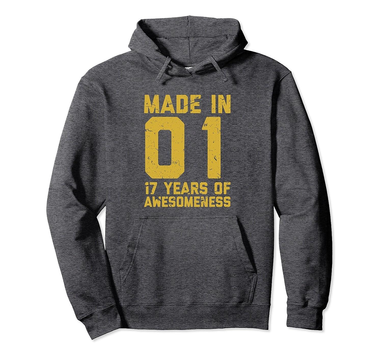 17th Birthday Hoodie Gift Boy Girl 17 Year Old Boys Girls Ah My Shirt One