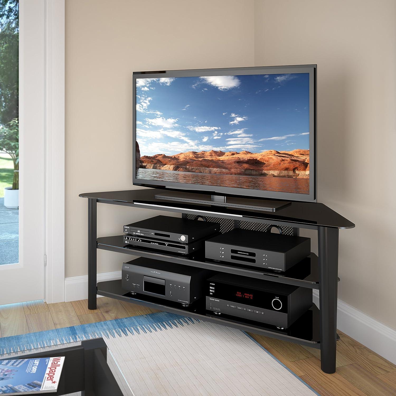 Amazon CorLiving TAL 604 T Alturas Veneer TV Stand 60 Inch