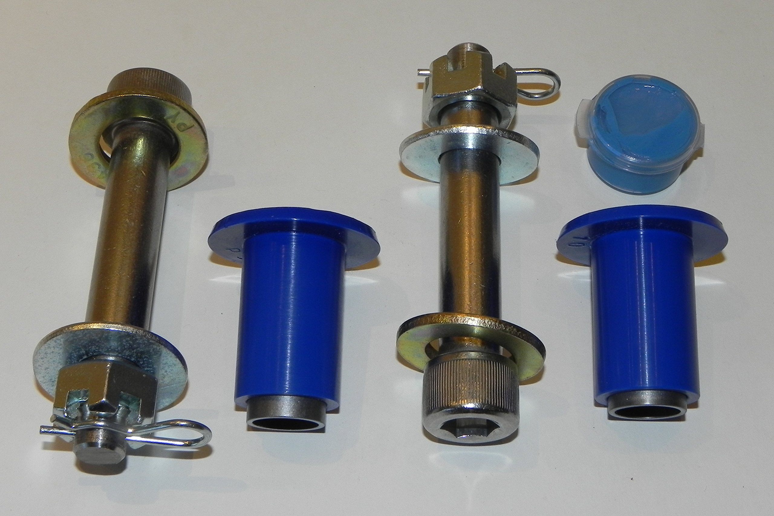 Clauss Studios Compatible with Peterbilt 378 379 Hood Hinge Pivot Bolt Kit Polyurethane Bushing Set