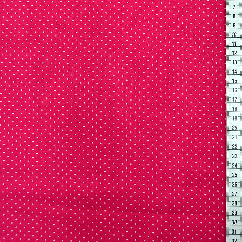 01. Gelb MAGAM-Stoffe Amelie P/ünktchen Baumwollstoff Oeko-Tex Meterware 50cm