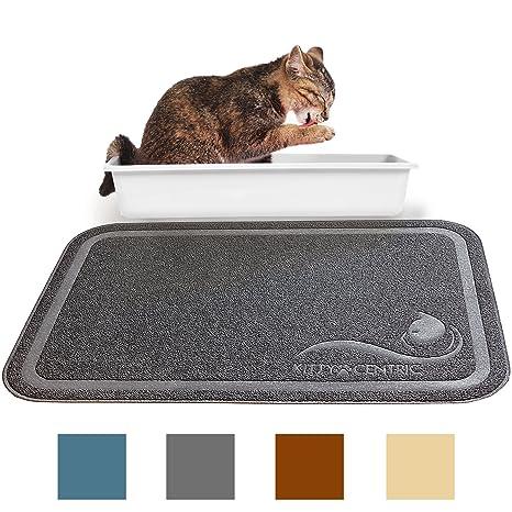 Kittycentric - Alfombrilla de Trampa para Gatos (35 x 24), Control de Scatter