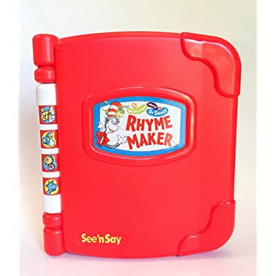 Dr Seuss See 'N Say Rhyme Maker: Toys & Games
