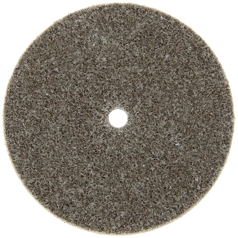 Scotch-Brite(TM) Cut and Polish Unitized Wheel, Aluminum Oxide, 3 Diameter x 1/4 Width, 7A Medium Grit, 18100 rpm, 1/4 Arbor  (Pack of 40) 3MIA9 CP-UW