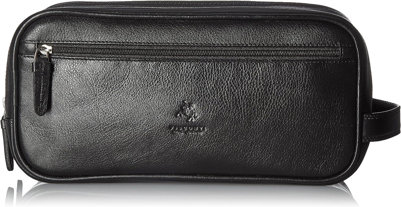 Visconti HT100 Leather Mens Supply Toiletry Bag Case/Dopp Kit/Travel Kit Wash Bag