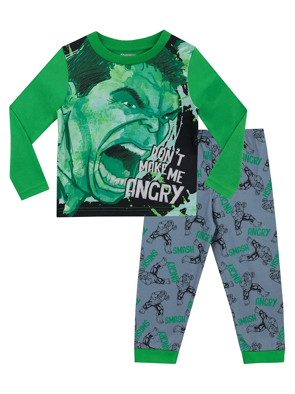 Marvel - Pijama para Niños - El Increible Hulk - Ajuste Ceñido: Amazon.es: Ropa y accesorios